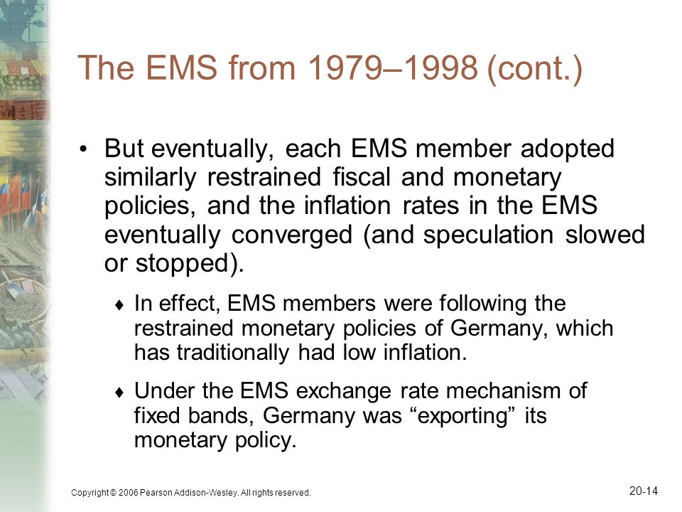 The EMS from 1979–1998 (cont.)