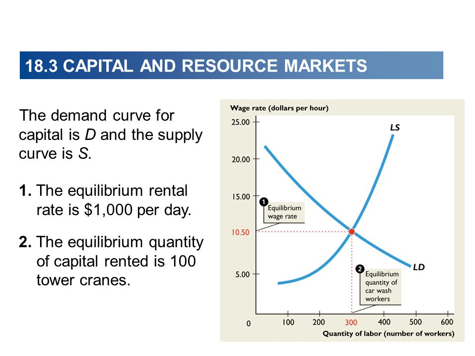18.3 CAPITAL AND RESOURCE MARKETS