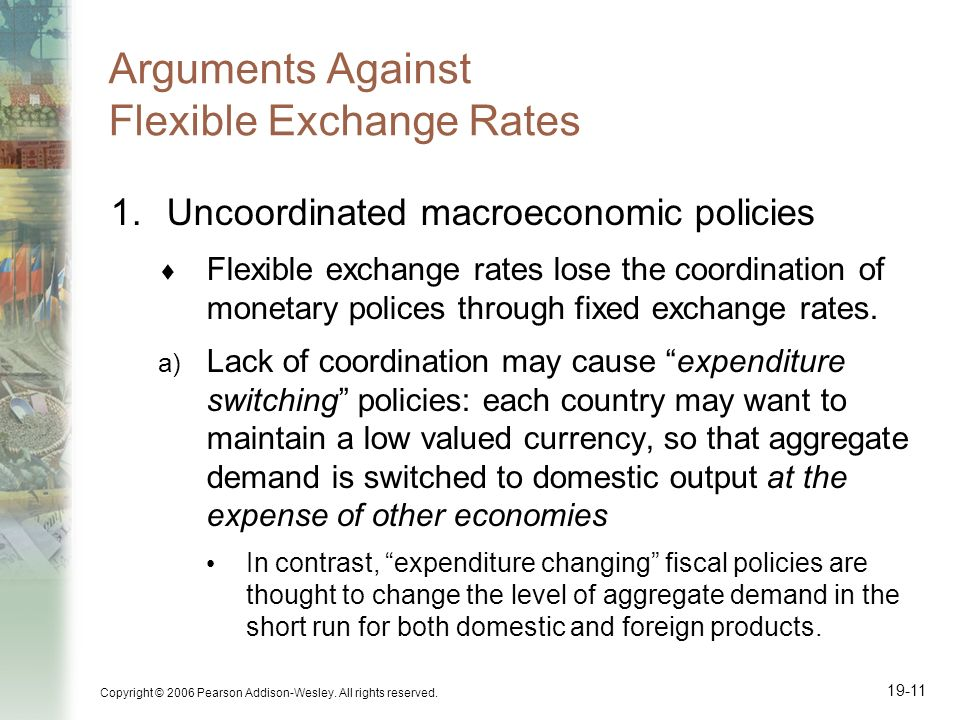Arguments Against Flexible Exchange Rates