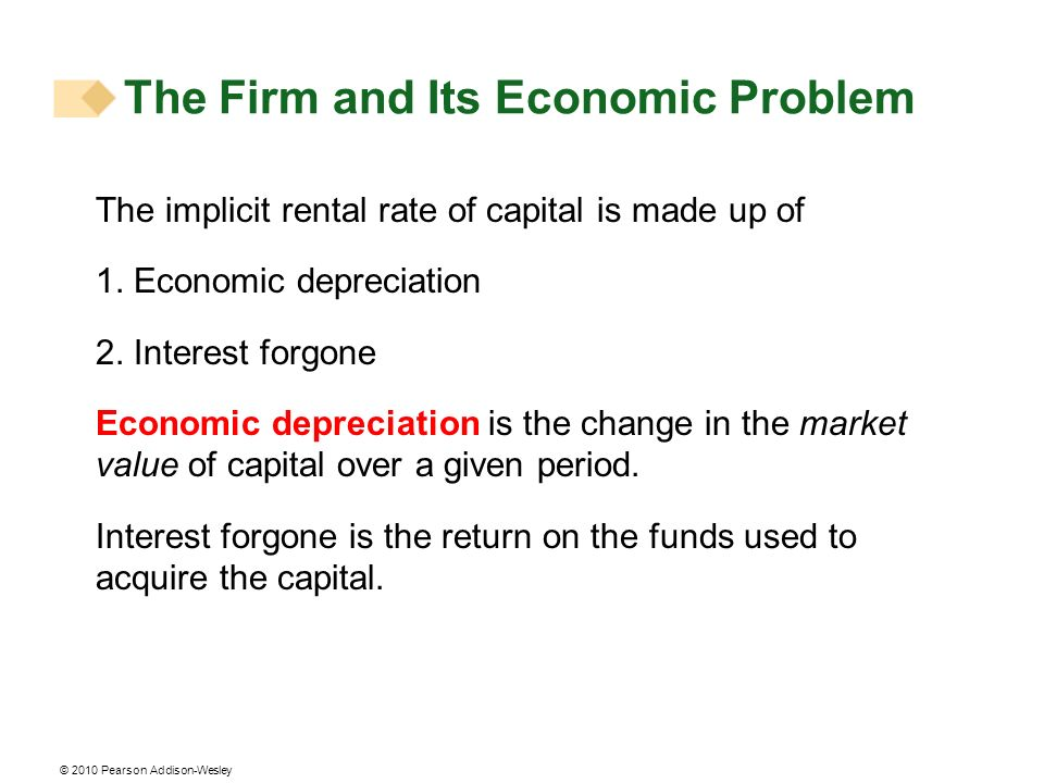 The Firm and Its Economic Problem