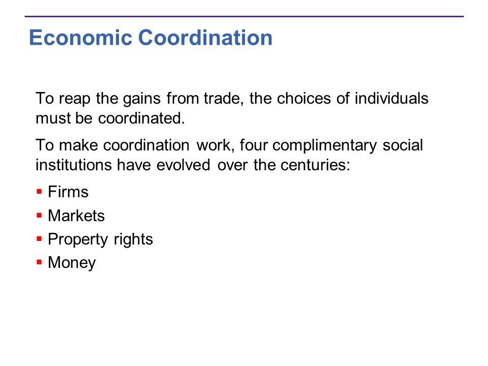 Economic Coordination