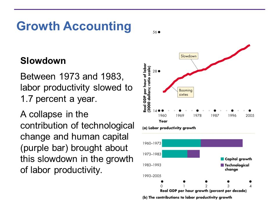 Growth Accounting Slowdown