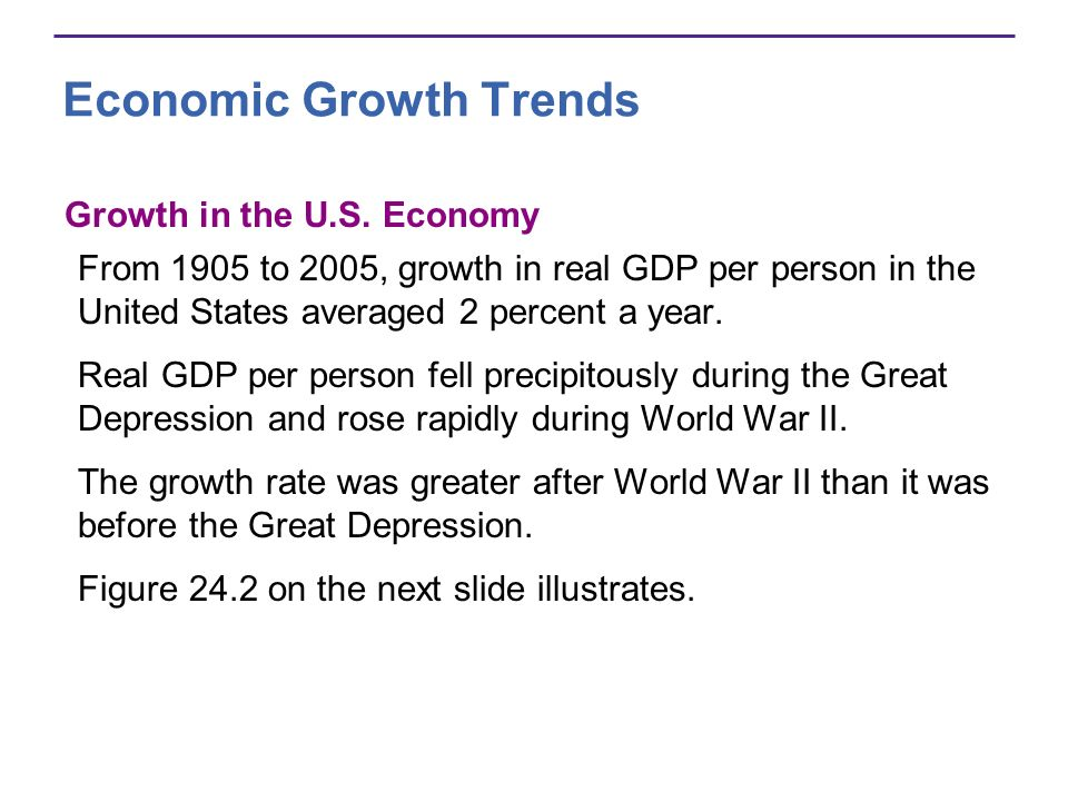 Economic Growth Trends