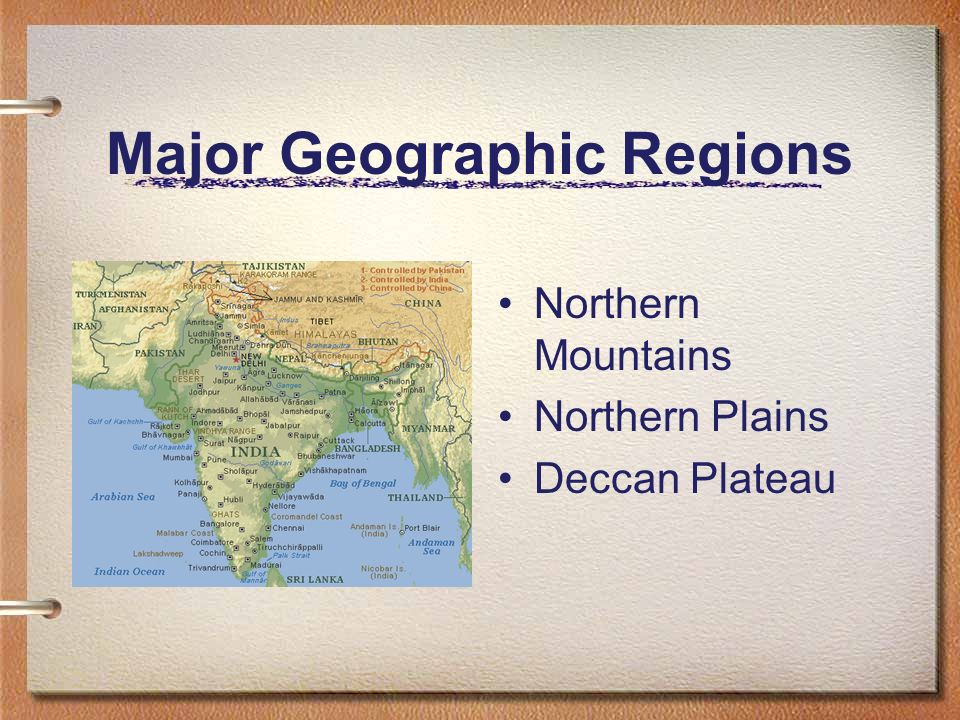Major Geographic Regions