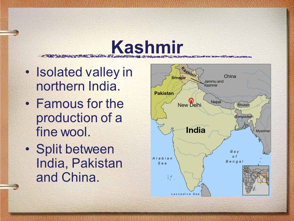 Kashmir Isolated valley in northern India.