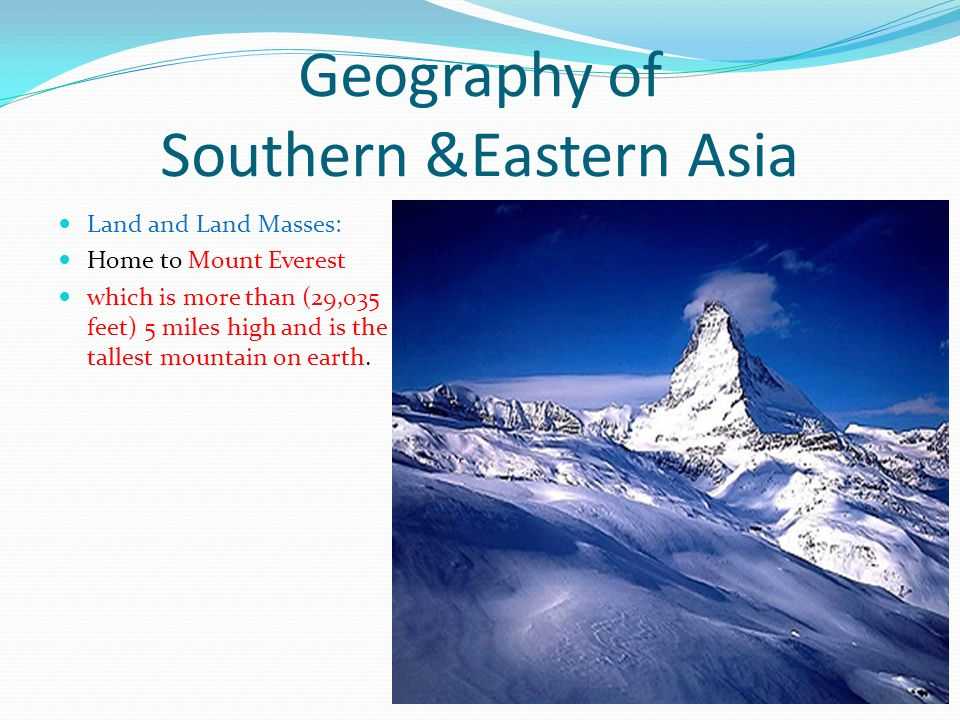 Geography of Asia ppt video online download