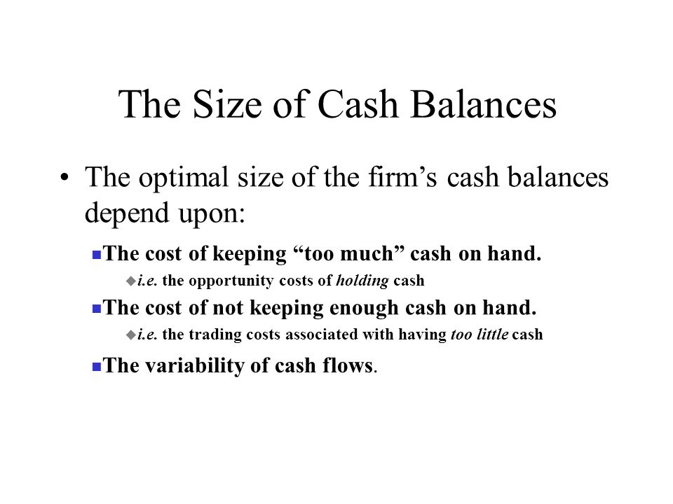 optimal size of a firm We put forward a theory of the optimal capital structure of the firm based on   optimal size of the firm in the future, and if this increase is large enough, lead to  an.