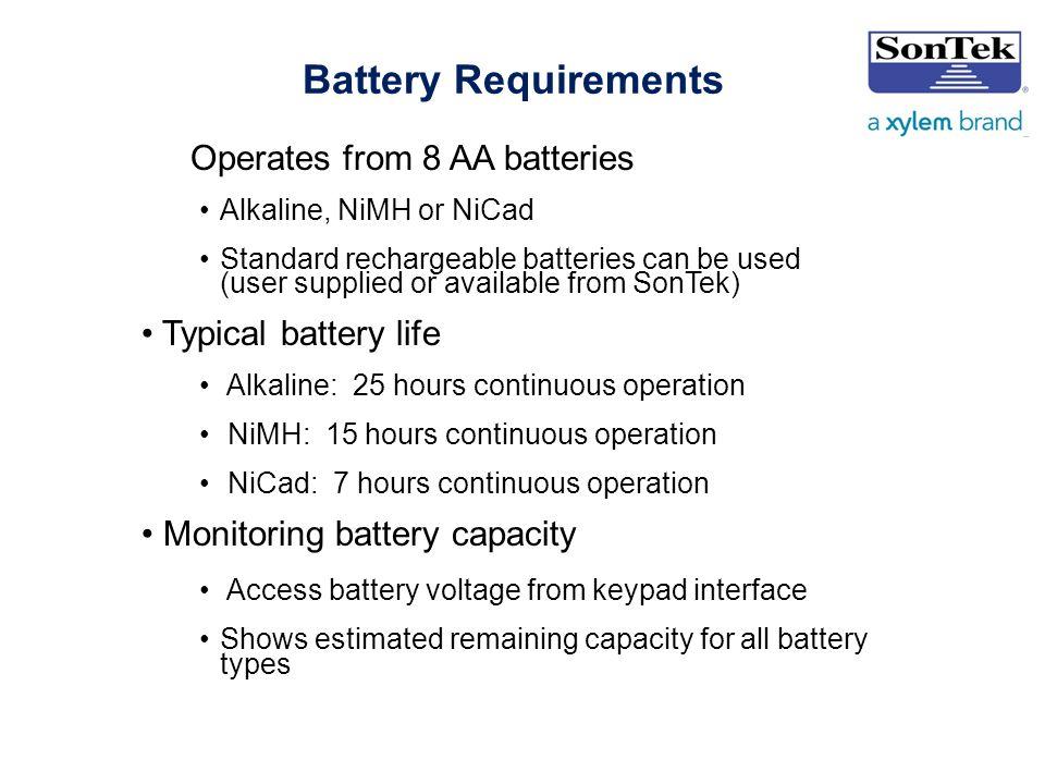 Battery Monitoring App User Interface : Sontek flowtracker basics of operation ppt download