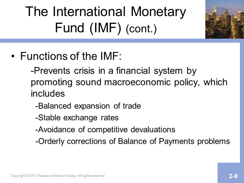 Chapter 2 international economic institutions since world war ii ppt video online download - International monetary fund ...