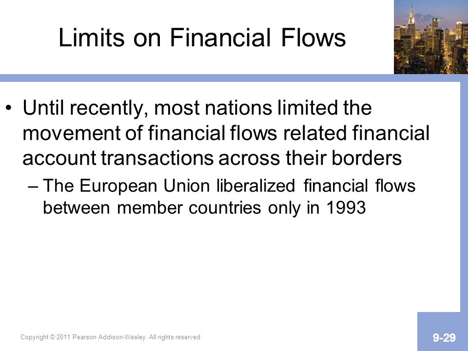 Limits on Financial Flows