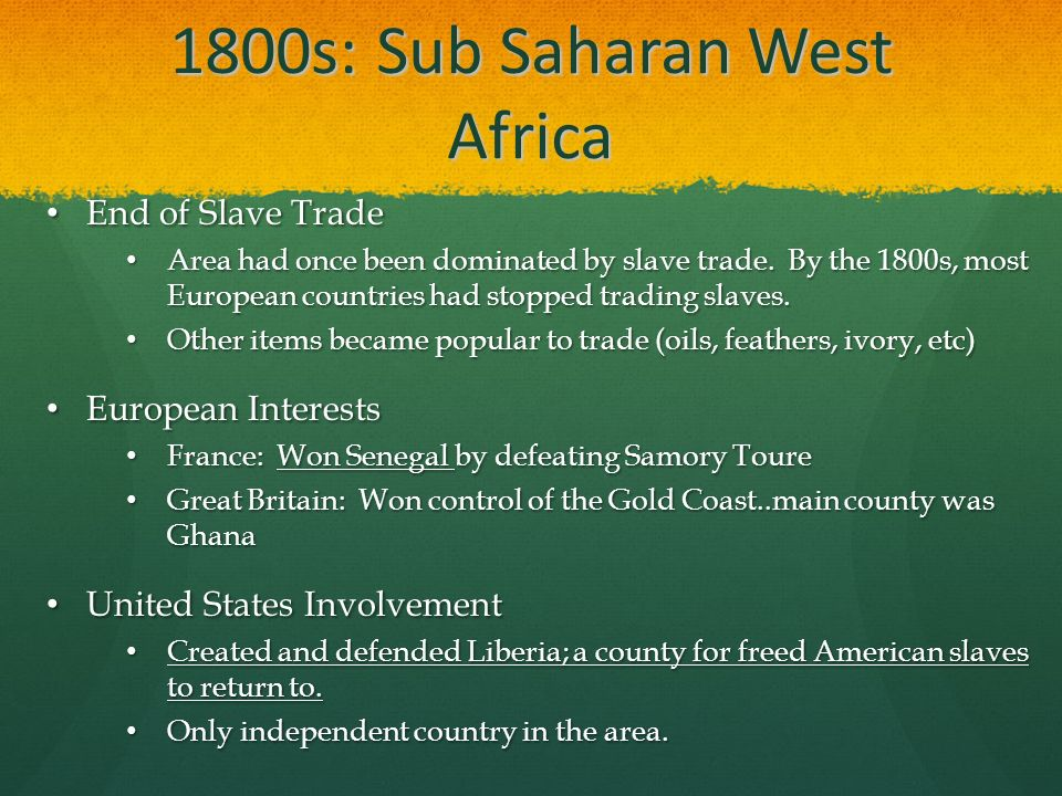 sub saharan slave trade and europeans One such leading project is the trans-atlantic slave trade database,  the  americas (north, central and south america) were the  this difference thus  explained the dramatic surge of the trade, as europeans riding the.