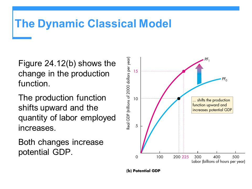 The Dynamic Classical Model