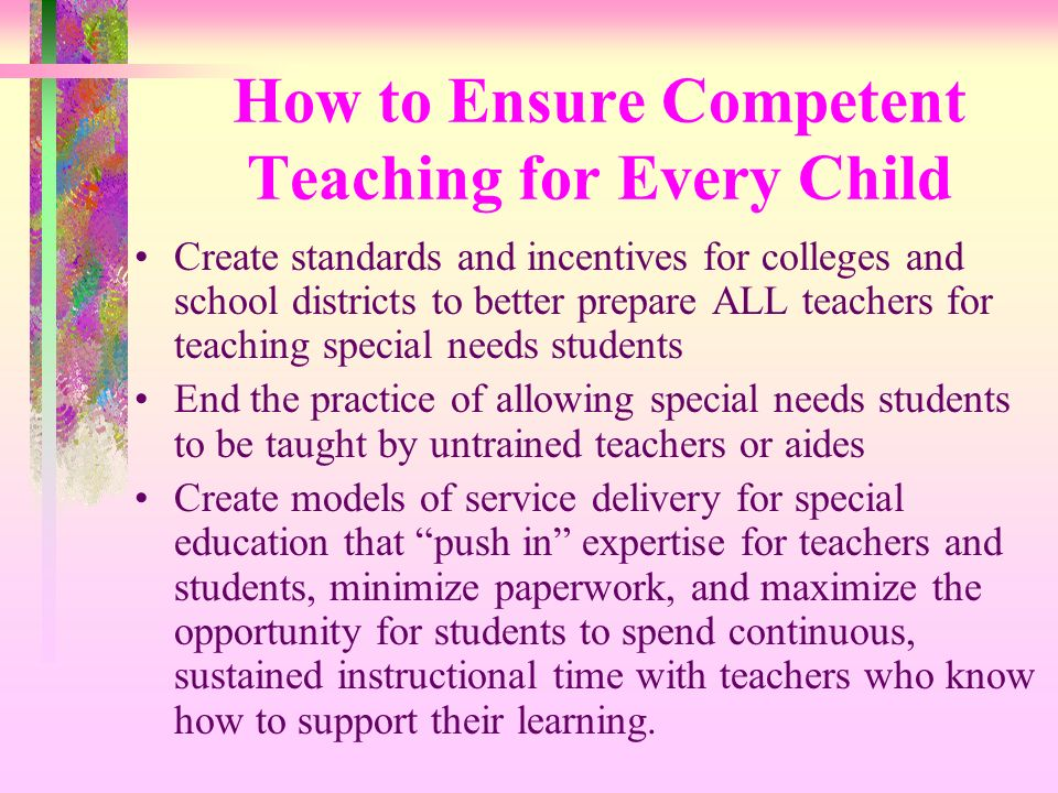 How to Ensure Competent Teaching for Every Child