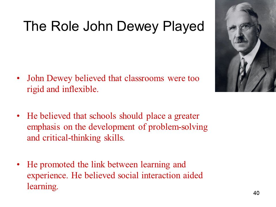 John dewey thinking in education essay