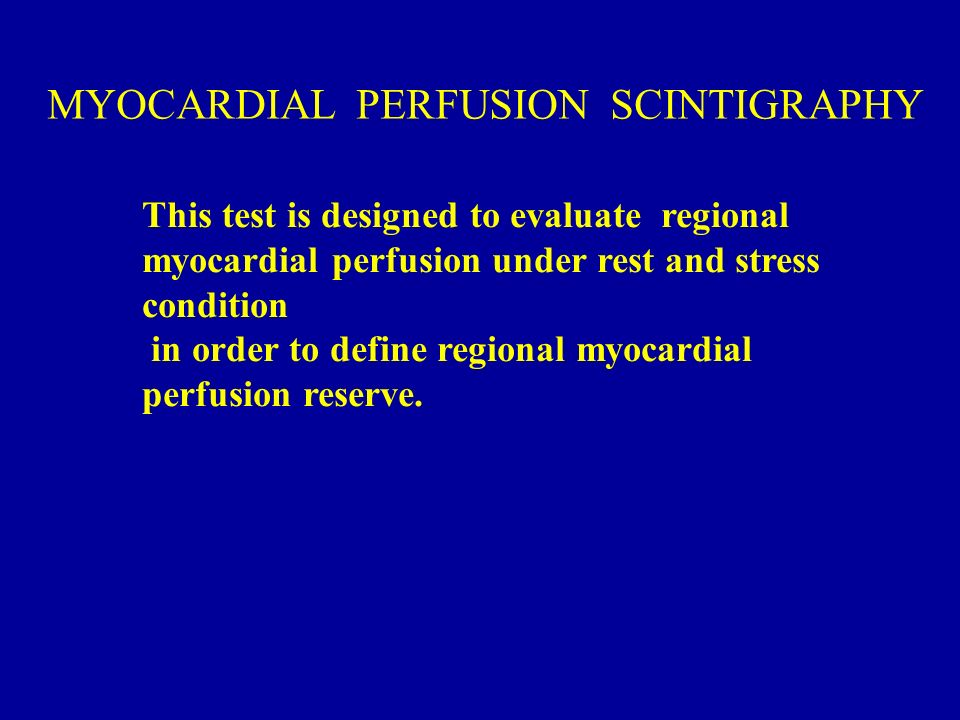 What to expect: Myocardial perfusion scan | The Austin ...