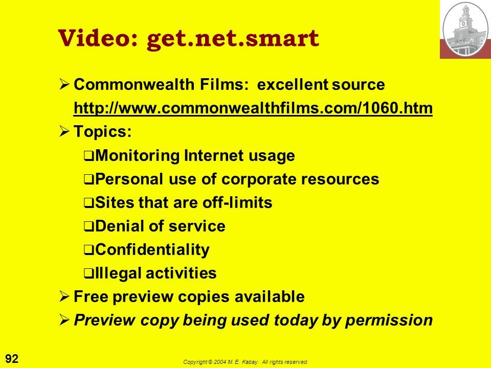 Video: get.net.smart Commonwealth Films: excellent source
