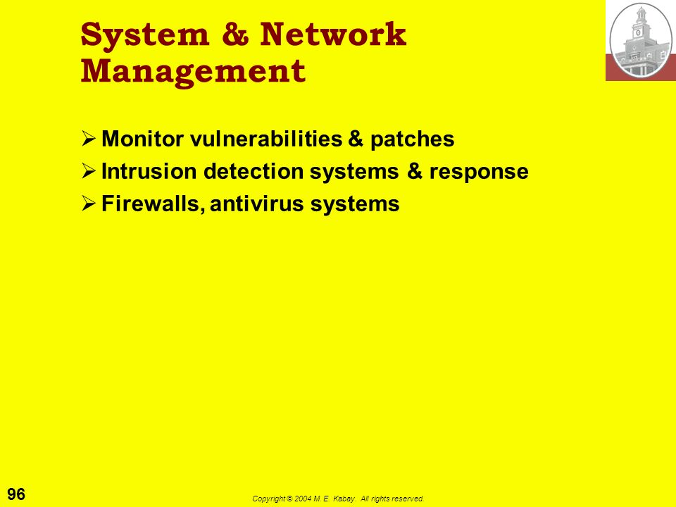 System & Network Management