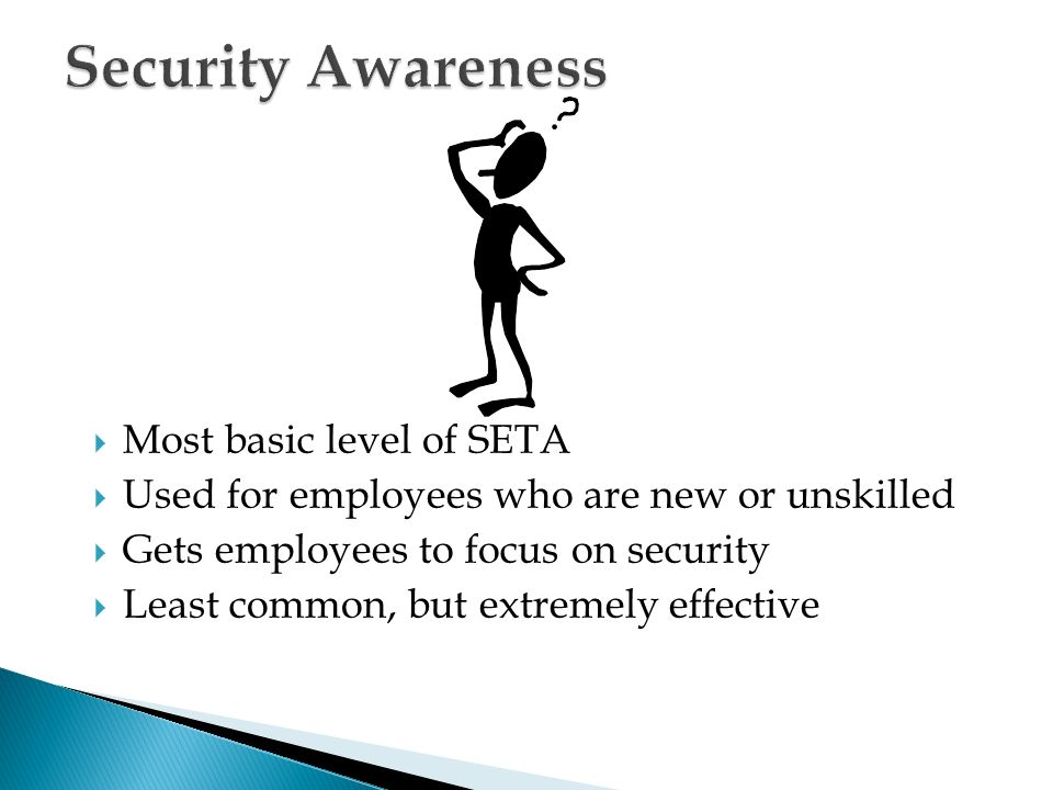 implementing the awareness and training program Today, i will be going over control 17 from version 7 of the top 20 cis controls – implement a security awareness and training program i will go through the nine requirements and offer my thoughts on what i've found.
