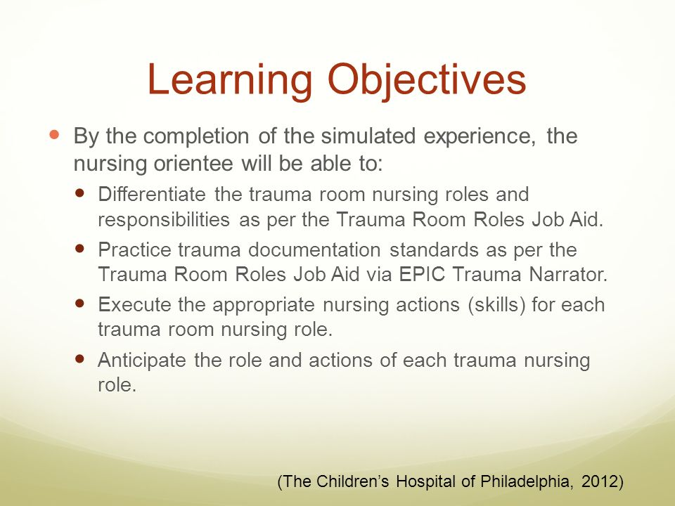 trauma nursing advanced practice Roles for the advanced practice nurse in nursing research jane s leske, phd, aprn-bc college of nursing, university of wisconsin–milwaukee, 1921 hartford avenue.