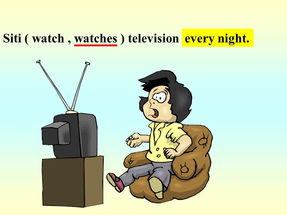 Siti ( watch , watches ) television