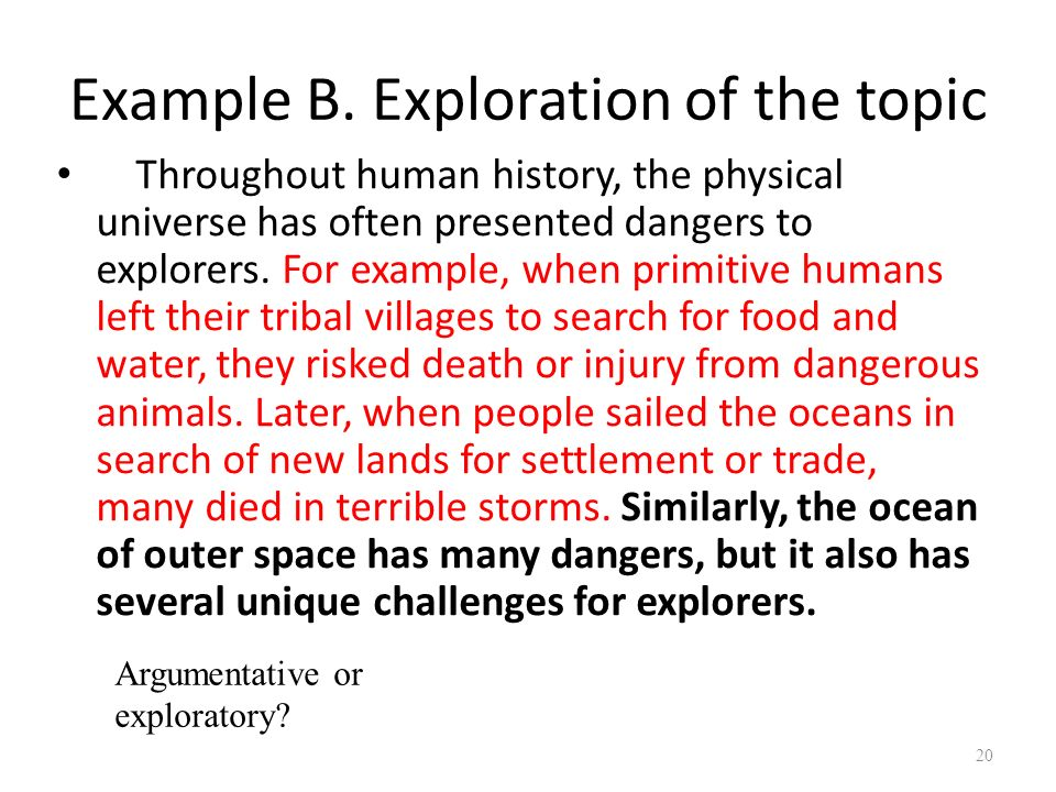 Essay topics on space exploration