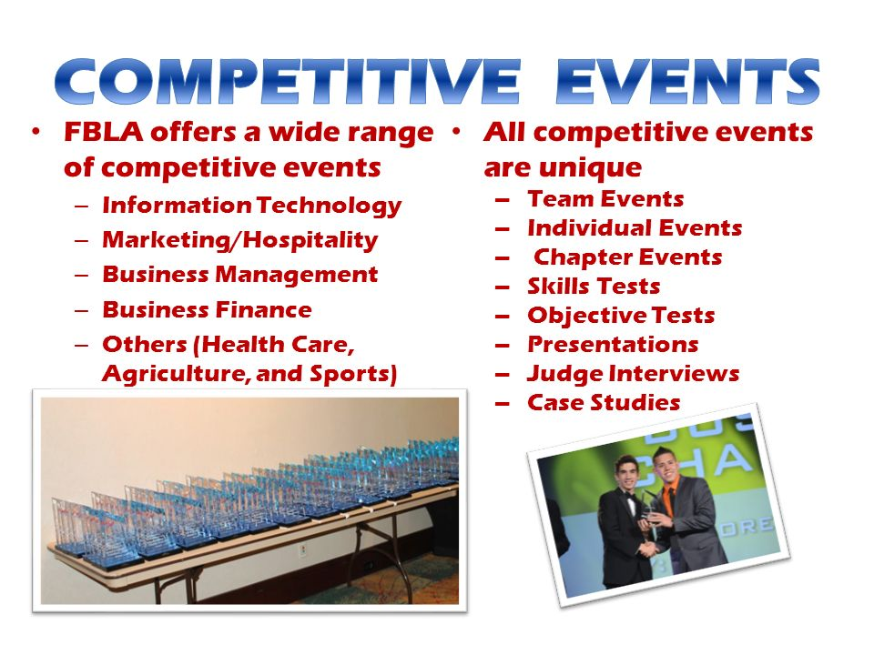 FBLA Competitive Events PowerPoint Presentation, PPT - DocSlides