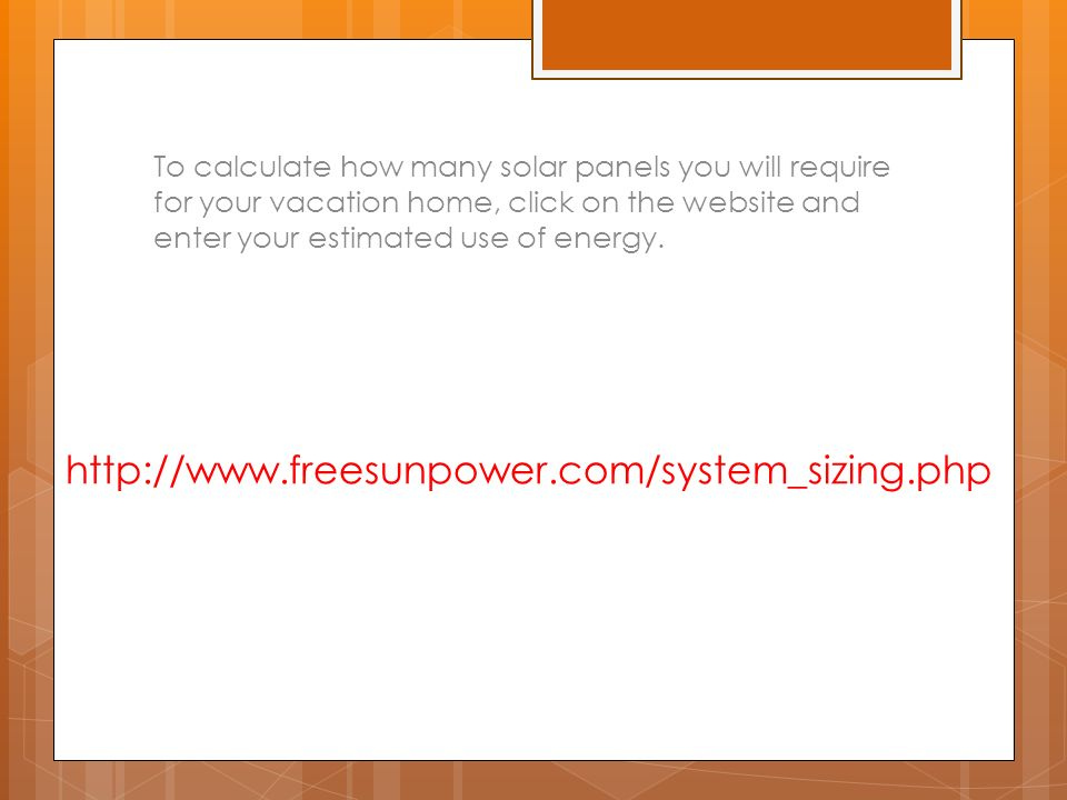 Solar energy ppt download for How to use solar energy in your home