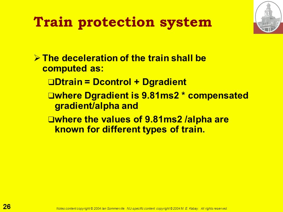 Train protection system