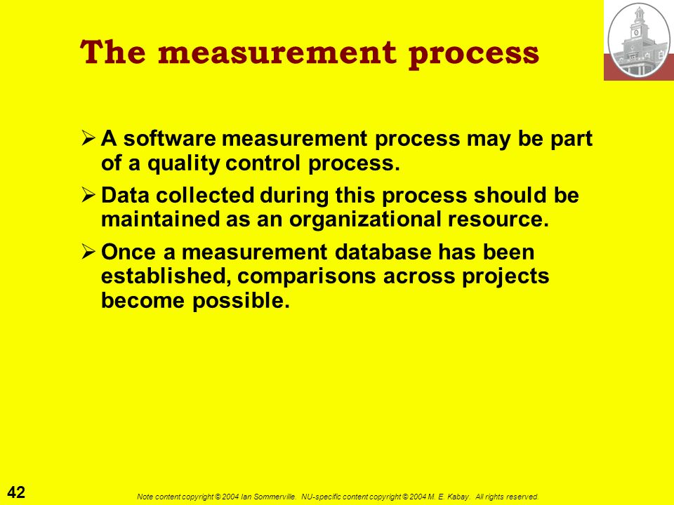 The measurement process