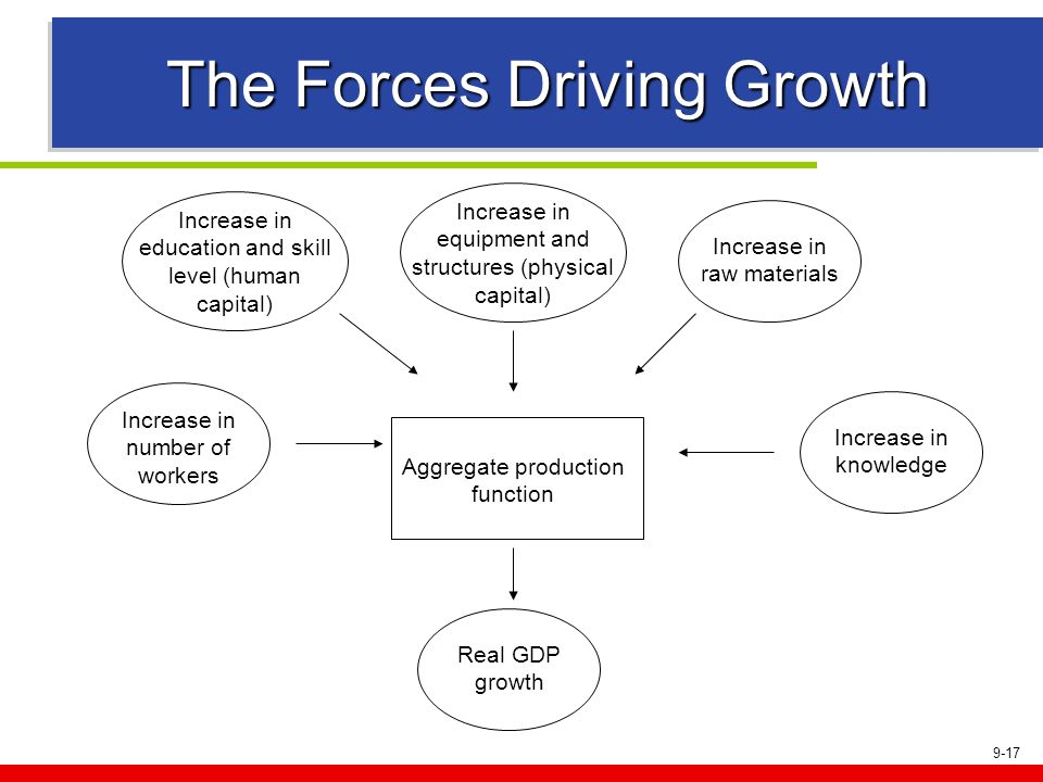 The Forces Driving Growth