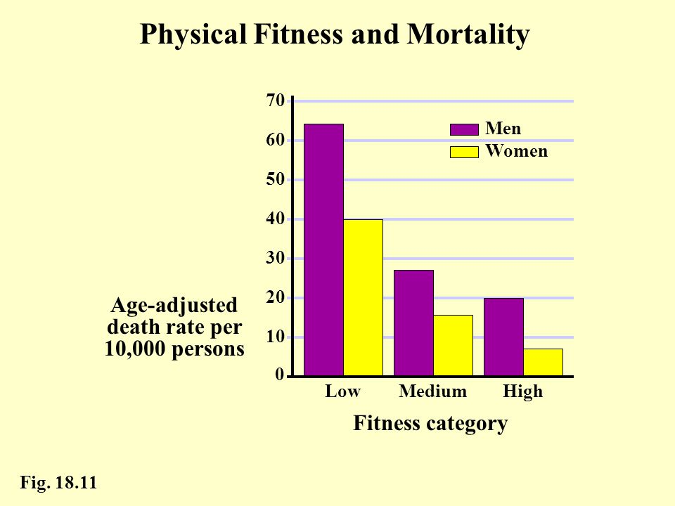 Physical Fitness and Mortality