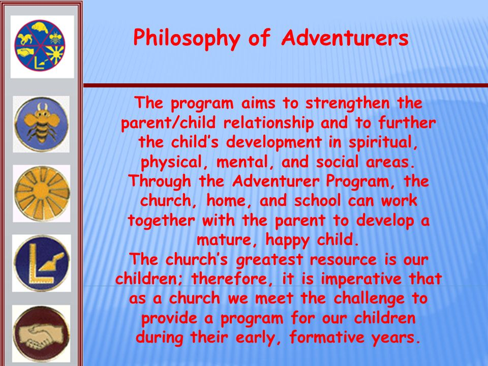 Philosophy of Adventurers