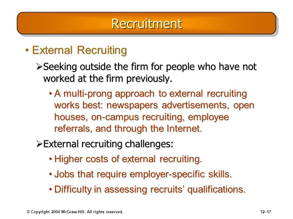 Recruitment External Recruiting