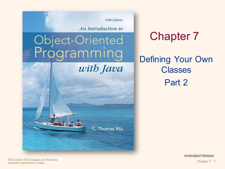 Introduction to OOP with Java 4th Ed, C. Thomas Wu