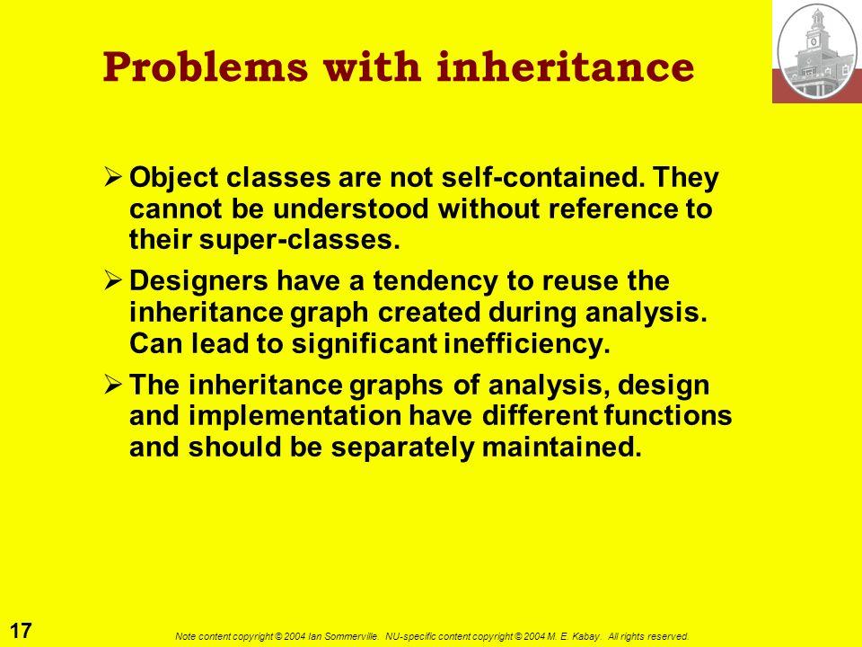 Problems with inheritance