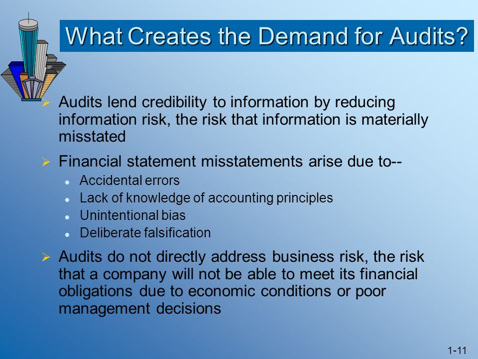 What Creates the Demand for Audits