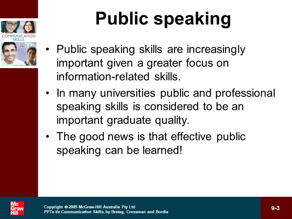 the various skills in public speaking and how to win an audience The average person ranks the fear of public speaking above death is this you follow these steps to crush your fears and get your point across  whether we are giving a formal.