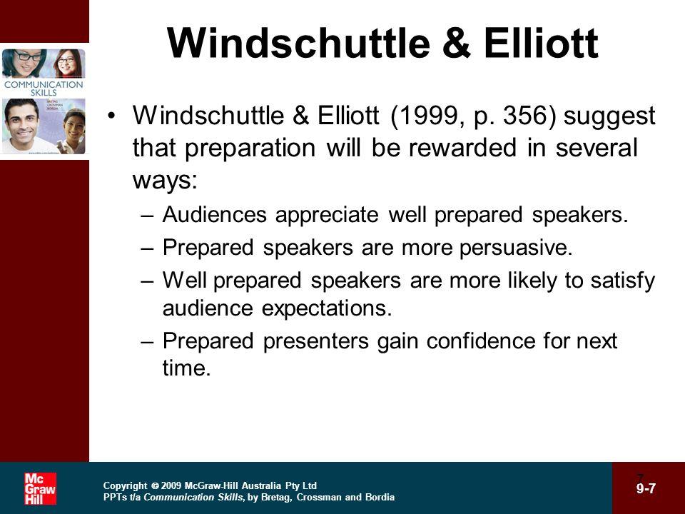 Windschuttle & Elliott