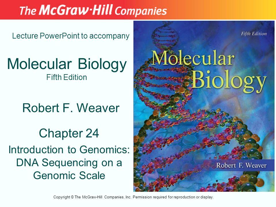 Molecular Biology Fifth Edition