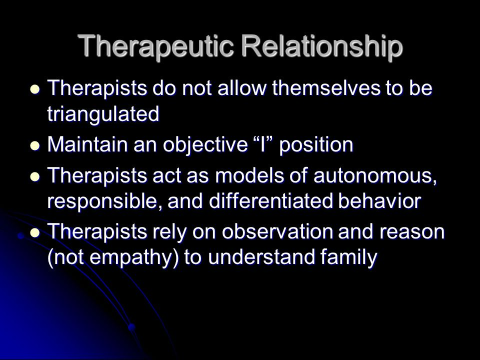 therapeutic relationship and empathy by heron