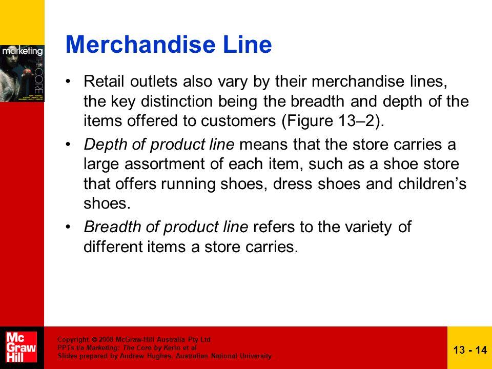 Merchandise Line