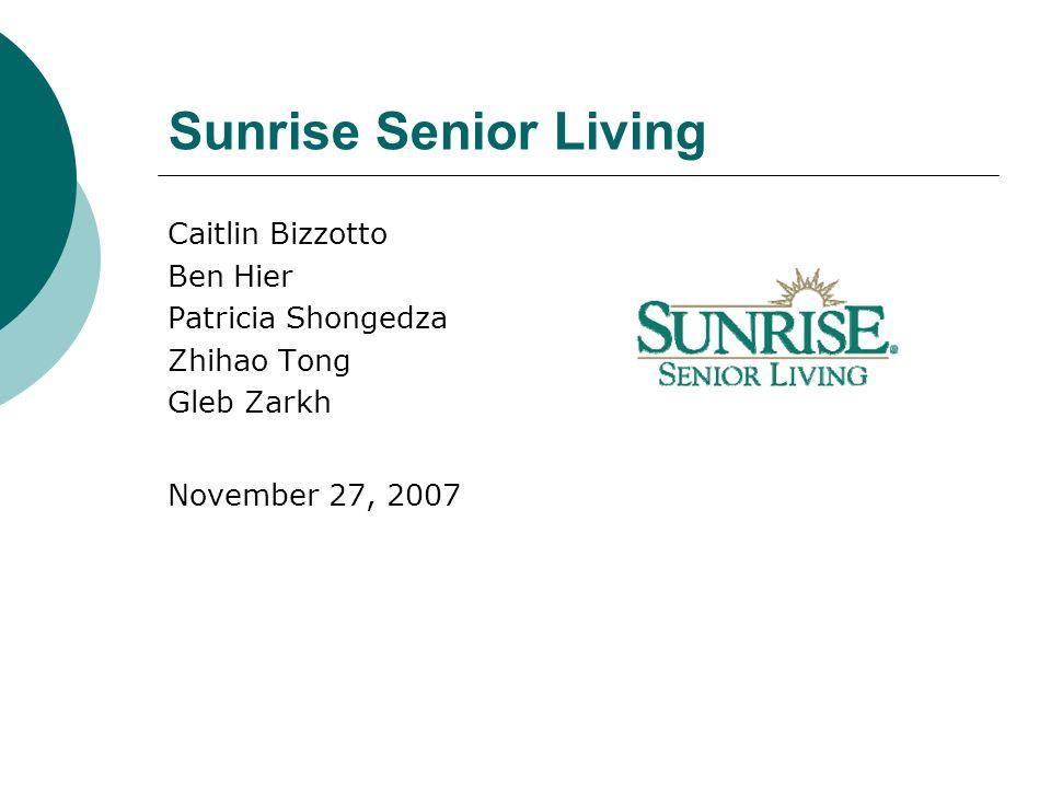 sunrise senior living corporate office