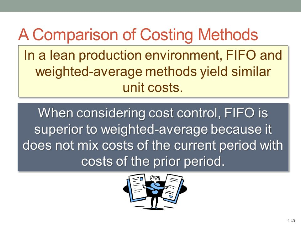 A Comparison of Costing Methods