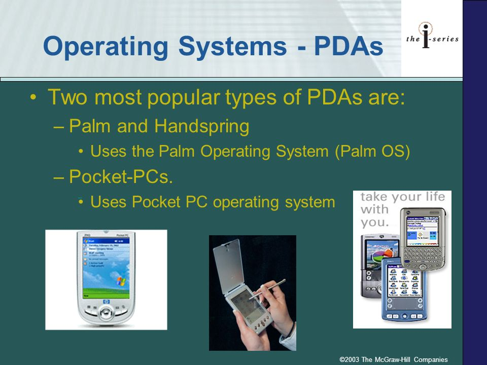 Operating Systems - PDAs