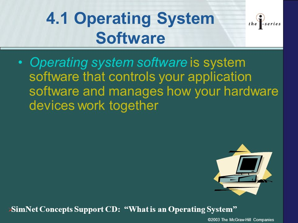 4.1 Operating System Software