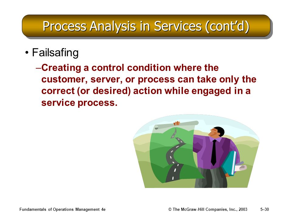 Process Analysis in Services (cont'd)