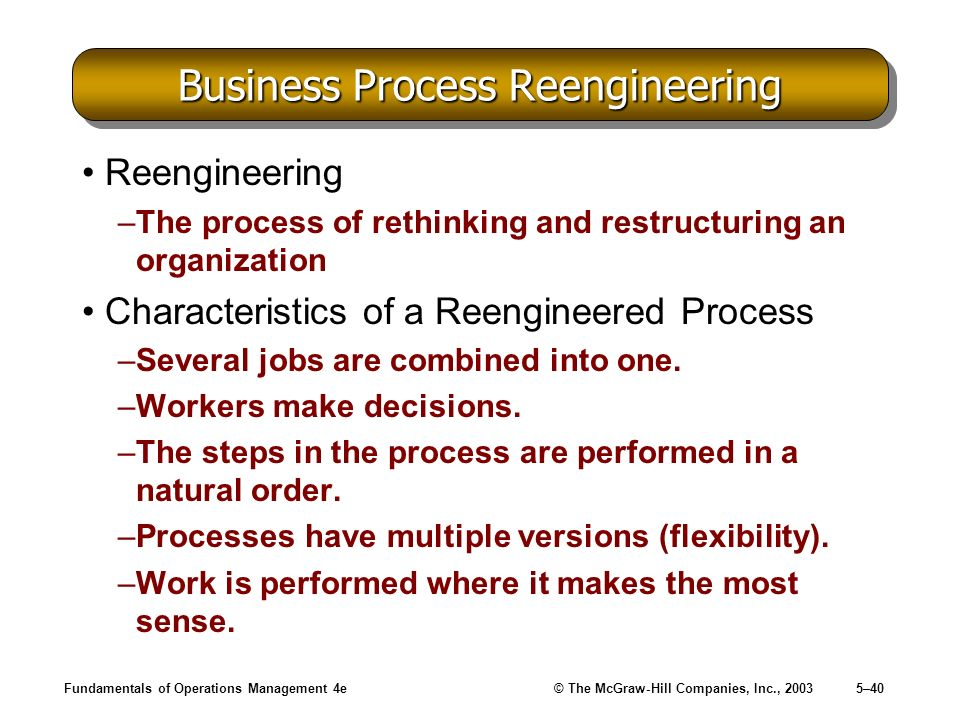 cover letter business process reengineering resume ideas