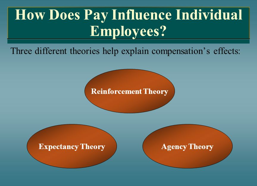 How Does Pay Influence Individual Employees