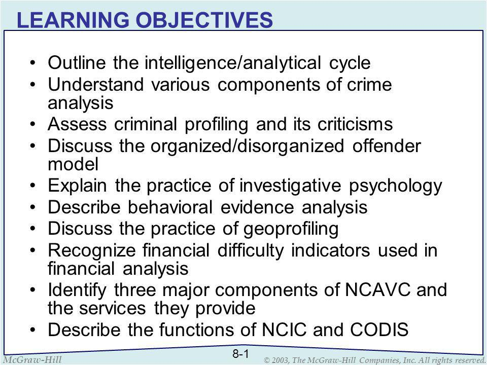 investigative resources ppt  2 learning objectives