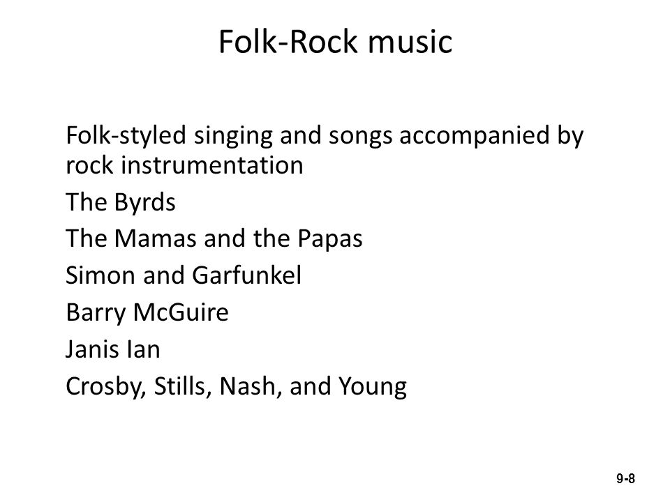 Folk-Rock music
